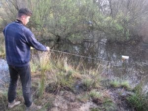 Dewsbury newt trap