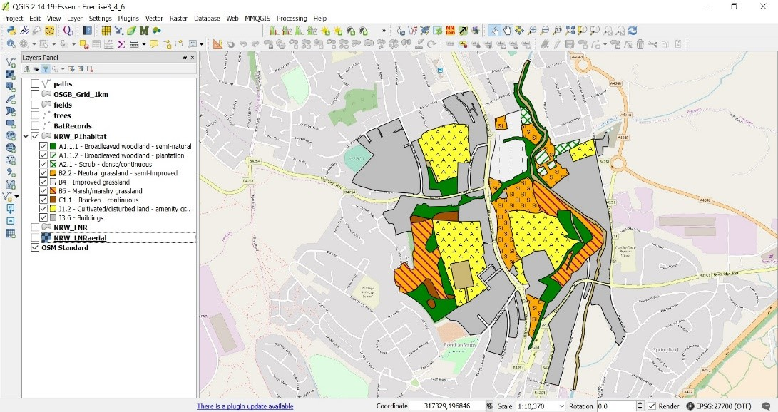 Introduction to QGIS for Ecologists 6th and 7th October 2018