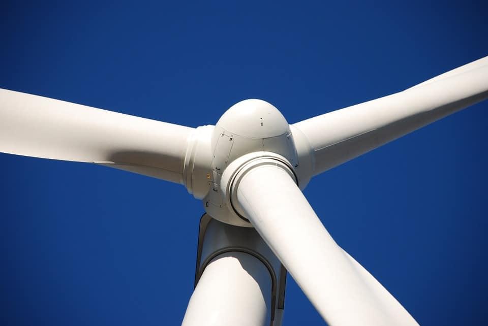 Wind Turbine - close-up
